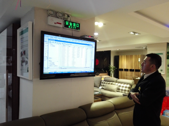 黑龙江绥化华翠家具使用易管E8家具软件加点