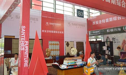 陕西西安圣特雷斯家具使用易管家具软件