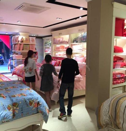 广东茂名富安娜专卖使用易管家具软件