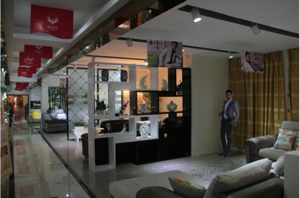 广西百色市万家利家居商场使用易管家具软件