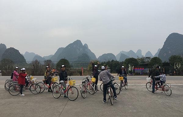 易管公司员工2016桂林之旅