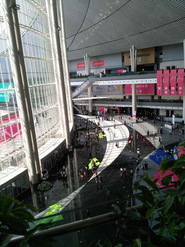 易管软件在第18届成都国际家具展上