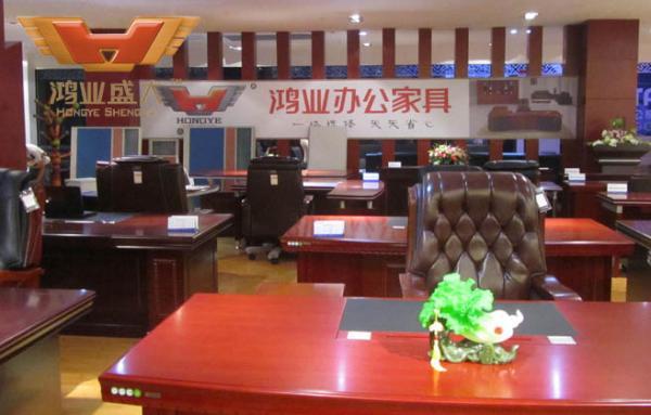 贵州六盘水市鸿业办公家具使用易管E8家具软件