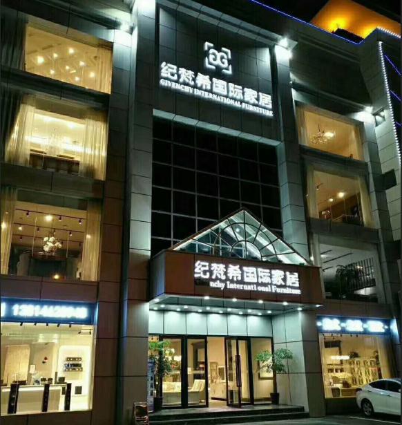 深圳纪梵希家居使用易管E8家具软件