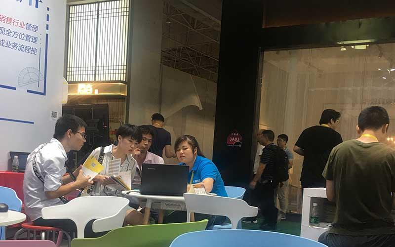 易管软件在第42届东莞名家具展上